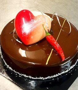 Very hot med sjokoladehjerte