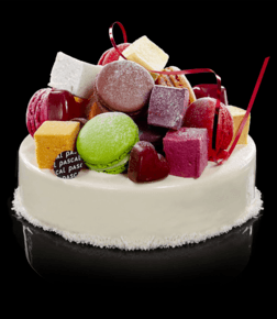 Tutti frutti kake