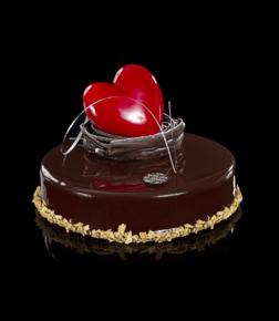 Chocovanille med sjokoladehjerte